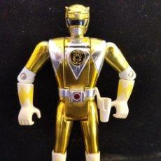 Figure e Bambolotti Power Rangers: RANGER AMARILLO PLATA, METAMORFOSEADOR - POWER RANGERS 1º SERIE 1993 MIGHTY MORPHIN - CAMBIA CARAS. Lote 208022705