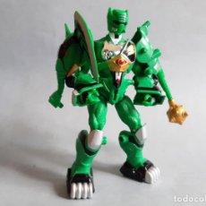 Figuras y Muñecos Power Rangers: FIGURA POWER RANGERS JUNGLE FURY ANIMALIZED GREEN ELEPHANT RANGER. Lote 208106868