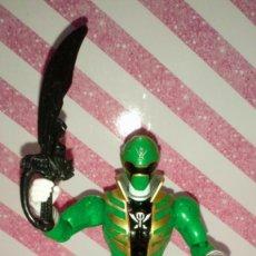 Figuras y Muñecos Power Rangers: FIGURA GREEN RANGER DE POWER RANGERS SUPER MEGAFORCE - BANDAI - 2014. Lote 208317185