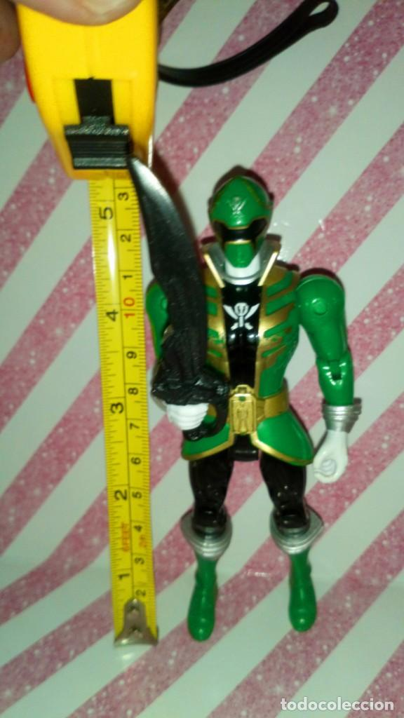 Figuras y Muñecos Power Rangers: FIGURA GREEN RANGER DE POWER RANGERS SUPER MEGAFORCE - BANDAI - 2014 - Foto 2 - 208317185
