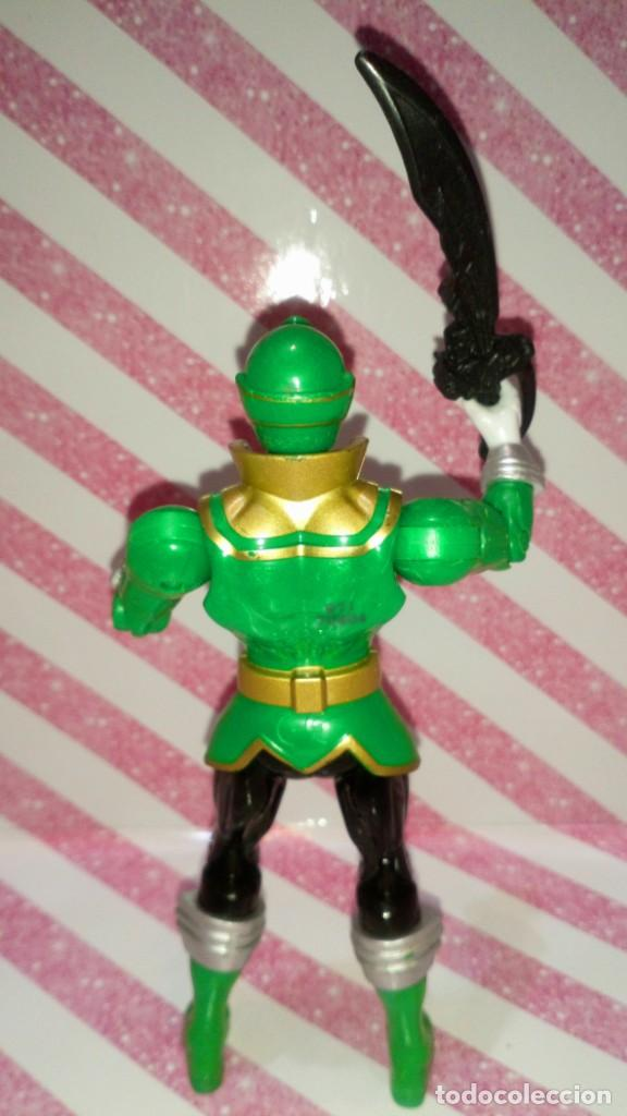 Figuras y Muñecos Power Rangers: FIGURA GREEN RANGER DE POWER RANGERS SUPER MEGAFORCE - BANDAI - 2014 - Foto 4 - 208317185