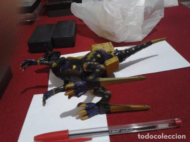 Figuras y Muñecos Power Rangers: FIGURA Power Rangers Dino Trueno Negro Raptor Rider -Bandai 2003 ARTICULADO - Foto 4 - 209798871