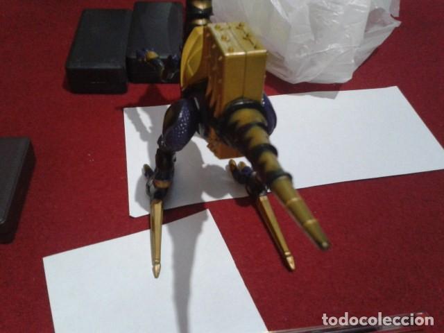 Figuras y Muñecos Power Rangers: FIGURA Power Rangers Dino Trueno Negro Raptor Rider -Bandai 2003 ARTICULADO - Foto 5 - 209798871