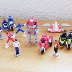 Figuras e Bonecos Power Rangers: MIGHTY MORPHIN POWER RANGERS * LOTE COMPLETO * MICRO MACHINES - GALOOB FAMOSA 1994. Lote 211468875