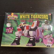 Figuras y Muñecos Power Rangers: POWER RANGERS WHITE TIGERZORD REF-2271 DE BANDAI 1993. Lote 211737705
