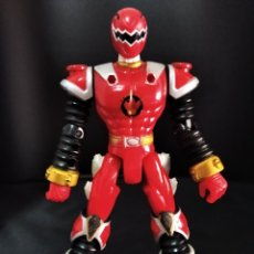 Figurines et Jouets Power Rangers: RED DINO RANGER ROJO - POWER RANGERS DINO THUNDER 2003 - 16 CM.. Lote 212050187