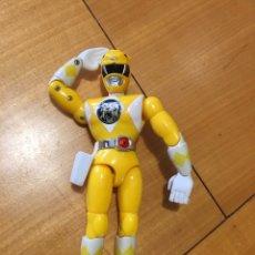 Figuras y Muñecos Power Rangers: POWER RANGER AMARILLO (FUNCIONANDO EL BOTON). Lote 212292205