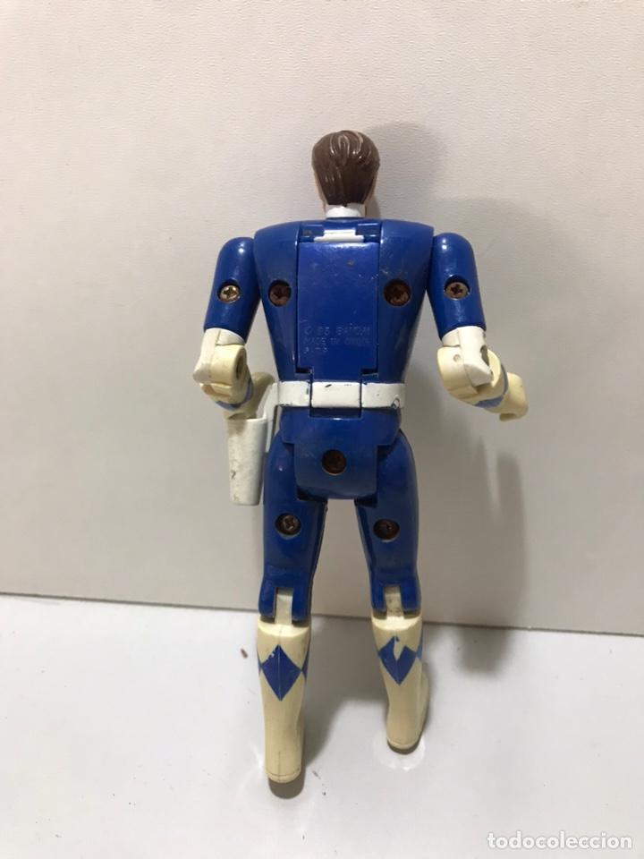 Figuras y Muñecos Power Rangers: POWER RANGERS : ANTIGUA FIGURA - BLUE RANGER AZUL - Foto 2 - 212521992