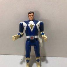 Figuras y Muñecos Power Rangers: POWER RANGERS : ANTIGUA FIGURA - BLUE RANGER AZUL. Lote 212521992