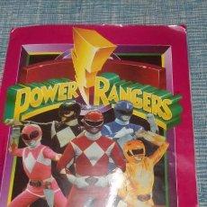 Figuras y Muñecos Power Rangers: ALBUM CROMOS POWER RANGERS (INCOMPLETO CON 197 CROMOS,FALTA 1 CROMO EL 187) EDICIONES ESTE AÑO 1994. Lote 213308251