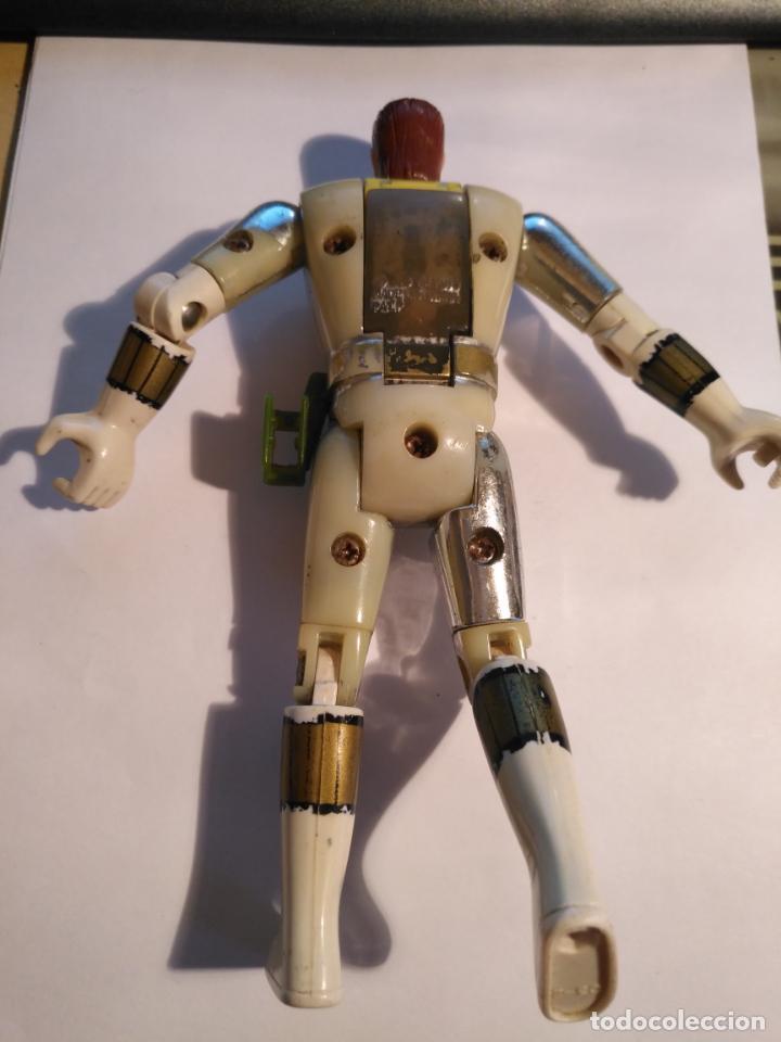 Figuras y Muñecos Power Rangers: figura muñeco plastico Power Rangers Auto Morphin 1993 Bandai blanco metalizado ver fotos detalladas - Foto 9 - 214501060