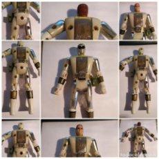 Figuras y Muñecos Power Rangers: FIGURA MUÑECO PLASTICO POWER RANGERS AUTO MORPHIN 1993 BANDAI BLANCO METALIZADO VER FOTOS DETALLADAS. Lote 214501060