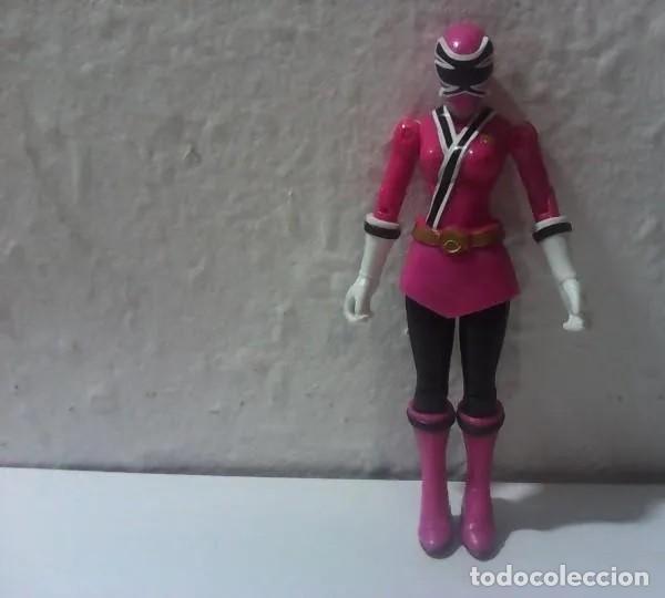 FIGURA DE POWER RANGERS TOTALMENTE ARTICULADA, EXCELENTE ESTADO (Juguetes - Figuras de Acción - Power Rangers)