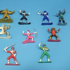 Figurines et Jouets Power Rangers: LOTE DE 9 POWER RANGERS DE BANDAI - AÑO 93 CHINA. Lote 214974272