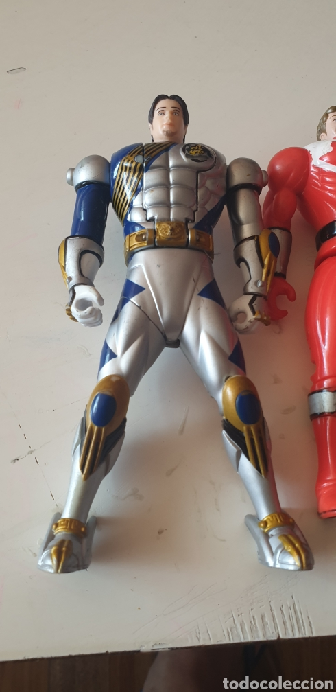 Figuras y Muñecos Power Rangers: LOTE 2 POWER RANGERS CABEZA REVERSIBLE BANDAI 2001 - Foto 2 - 215273552