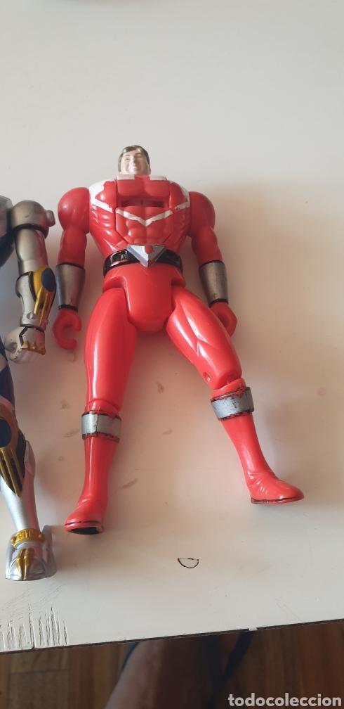 Figuras y Muñecos Power Rangers: LOTE 2 POWER RANGERS CABEZA REVERSIBLE BANDAI 2001 - Foto 3 - 215273552