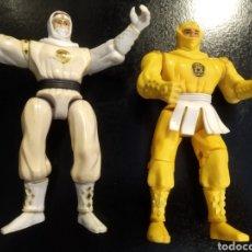 Figuras y Muñecos Power Rangers: 2 FIGURAS POWER RANGER DE BANDAI AÑO 1995. Lote 218274060