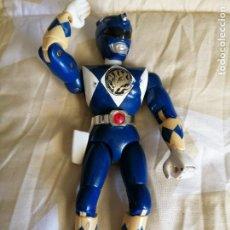 Figuras y Muñecos Power Rangers: POWER RANGERS AZUL TOTALMENTE ARTICULADO 21 CM AÑO 94 BANDAI ,ARTICULACIONES FUERTES. Lote 218313681