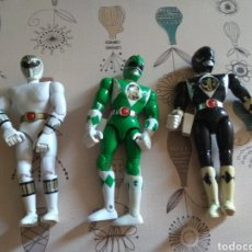 Figuras y Muñecos Power Rangers: LOTE 3 POWER RANGERS. MIGHTY MORPHIN . BANDAI 1993. Lote 220594262
