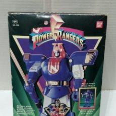 Figuras y Muñecos Power Rangers: POWER RANGERS NINJOR. NUEVO EN CAJA. BANDAI. 1995. SABAN. REF 2526. TRANSFORMABLE.. Lote 220687021