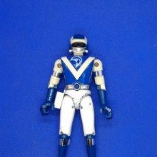 Figuras y Muñecos Power Rangers: FIGURAS METAL BIOMAN TOEI BANDAI 1988 DELFÍN AZUL POWER RANGER RANGERS. Lote 220799451
