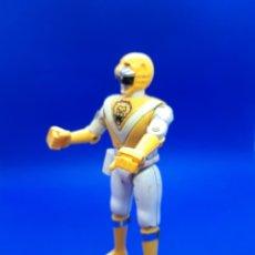 Figuras y Muñecos Power Rangers: FIGURAS METAL BIOMAN TOEI BANDAI 1988 METEORO AMARILLO POWER RANGER RANGERS. Lote 220799748