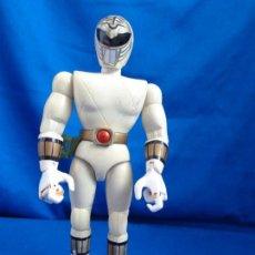 Figuras y Muñecos Power Rangers: POWER RANGERS - ANTIGUA FIGURA ARTICULADA POWER RANGERS BLANCO, BANDAI 1993! SM. Lote 221110145