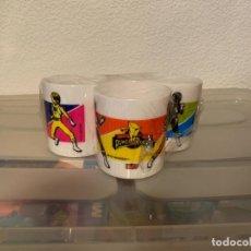 Figuras y Muñecos Power Rangers: TAZAS POWER RANGERS LEJIA WIPP. Lote 221230115