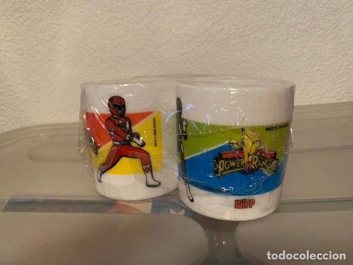 Figuras y Muñecos Power Rangers: Tazas power rangers lejia wipp - Foto 2 - 221230115