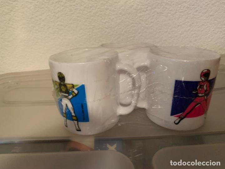 Figuras y Muñecos Power Rangers: Tazas power rangers lejia wipp - Foto 4 - 221230115