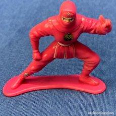 Figuras y Muñecos Power Rangers: FIGURA POWER RANGERS NINJA ROSA MOVIE - LA PELÍCULA - BANDAI - AÑO 1995 - 6 CM. Lote 221934781