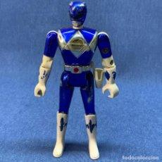 Figuras y Muñecos Power Rangers: FIGURA POWER RANGERS AZUL - BANDAI - AÑO 1995 - 14 CM. Lote 221939116