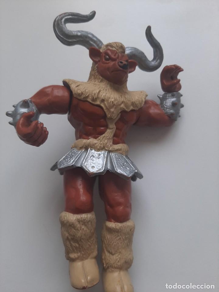 FIGURA MIGHT MINOTAUR POWER RANGER BANDAI 1994 (Juguetes - Figuras de Acción - Power Rangers)