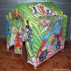 Figuras y Muñecos Power Rangers: TIENDA DE CAMPAÑA DE LOS POWER RANGERS. FABRICADA POR JOSMAN. NUEVA. IMPECABLE. MUY DIFICIL. Lote 222441090
