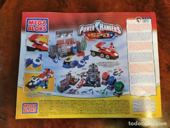 Figuras y Muñecos Power Rangers: Juego de construccion Mega Bloks 5745 Power Rangers SPD completo - Foto 2 - 222805418