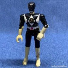 Figuras y Muñecos Power Rangers: FIGURA POWER RANGERS NEGRO - BANDAI - AÑO 1993 - 11.5 CM. Lote 224366651