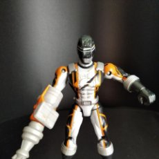 Figuras y Muñecos Power Rangers: RANGER NEGRO CON TALADRO - POWER RANGERS OVERDRIVE 2006 BANDAI -. Lote 226275950