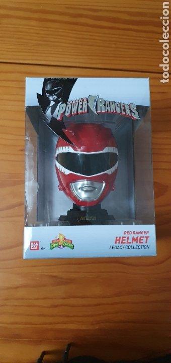 FIGURA HELMET POWER RANGERS LEGACY COLLECTION RED RANGER (Juguetes - Figuras de Acción - Power Rangers)