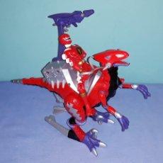 Figuras y Muñecos Power Rangers: POWER RANGERS DINO THUNDER RAPTOR MIGHTY MORPHIN DE BANDAI ORIGINAL. Lote 227892215