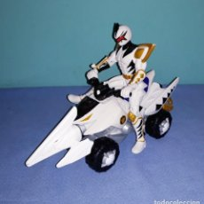 Figuras e Bonecos Power Rangers: POWER RANGERS QUAD MOTO THUNDER RAPTOR DE BANDAI AÑO 2003 ORIGINAL. Lote 227893560