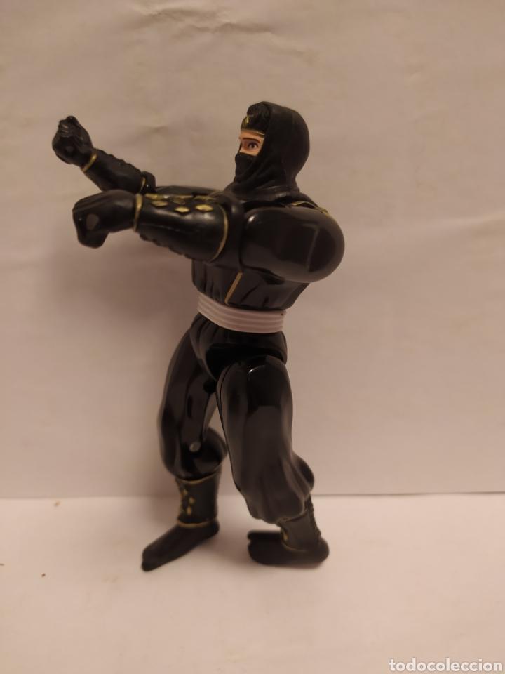 Figuras y Muñecos Power Rangers: Power Rangers ninja negro Bandai año 1995 - Foto 2 - 229222390