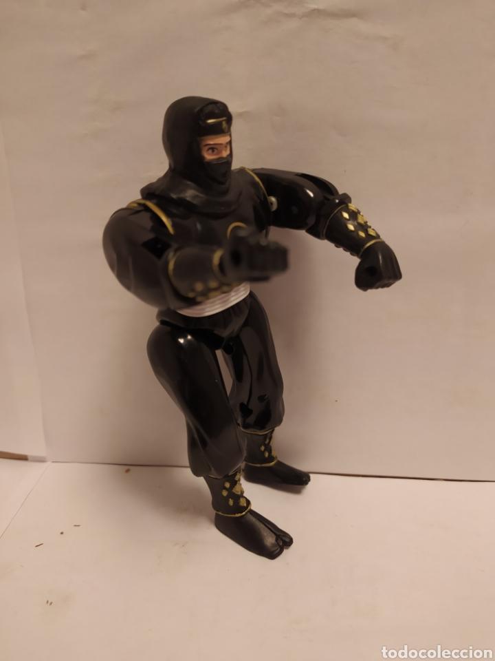 Figuras y Muñecos Power Rangers: Power Rangers ninja negro Bandai año 1995 - Foto 4 - 229222390