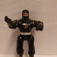 Figuras y Muñecos Power Rangers: POWER RANGERS NINJA NEGRO BANDAI AÑO 1995. Lote 229222390