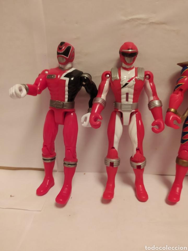Figuras y Muñecos Power Rangers: Power Rangers ninjas rojos Bandai - Foto 2 - 229228240