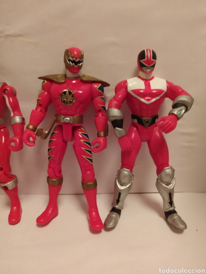 Figuras y Muñecos Power Rangers: Power Rangers ninjas rojos Bandai - Foto 3 - 229228240