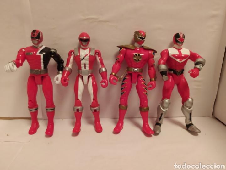 POWER RANGERS NINJAS ROJOS BANDAI (Juguetes - Figuras de Acción - Power Rangers)