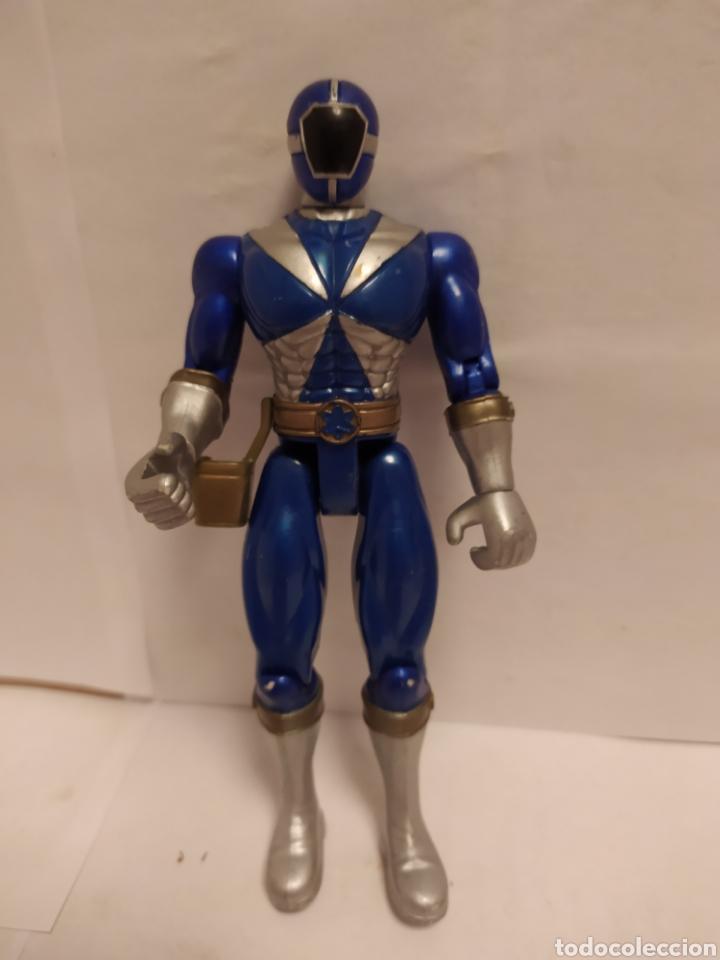 Figuras y Muñecos Power Rangers: Power Rangers ninjas azul y rojo Bandai año 1996-1999 - Foto 3 - 229228635