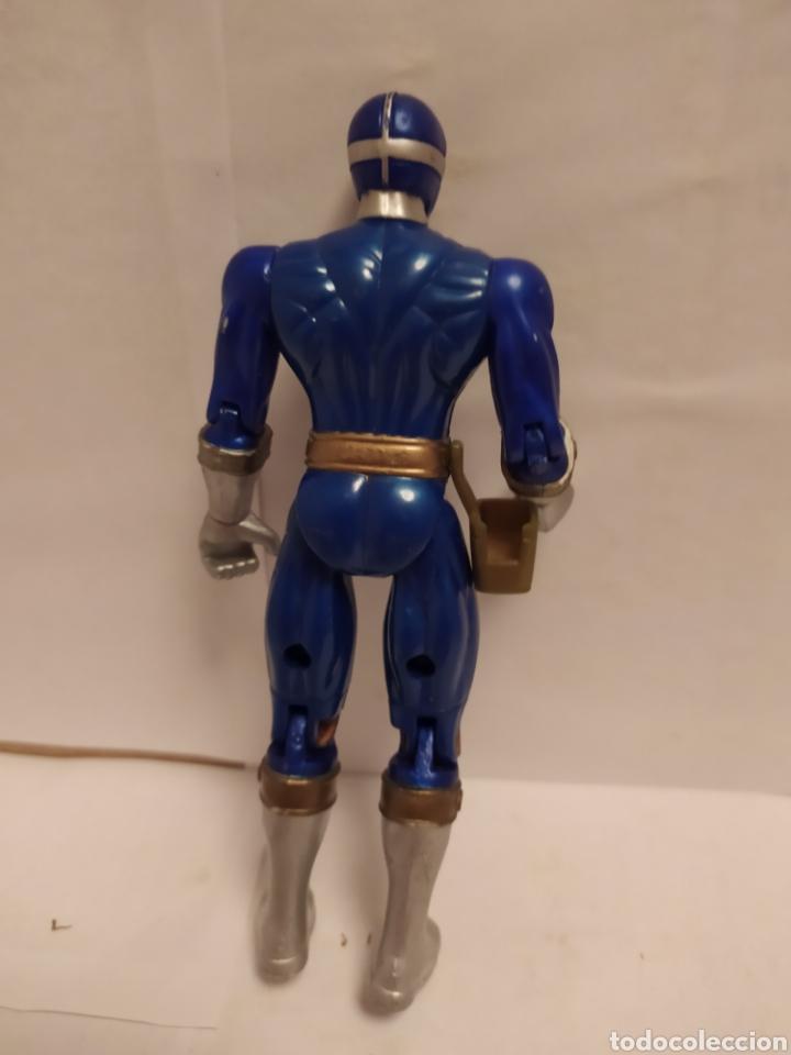 Figuras y Muñecos Power Rangers: Power Rangers ninjas azul y rojo Bandai año 1996-1999 - Foto 4 - 229228635