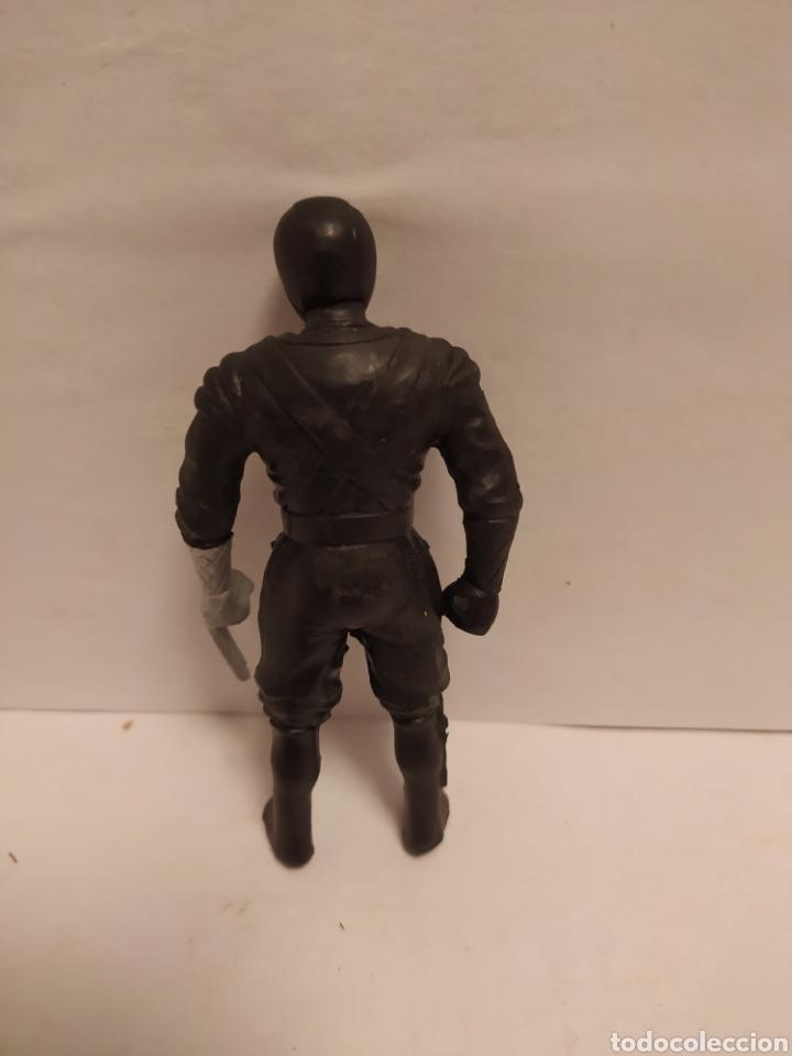 Figuras y Muñecos Power Rangers: Power Rangers ninja negro plástico, Chap Mei año 1995 - Foto 2 - 229229305
