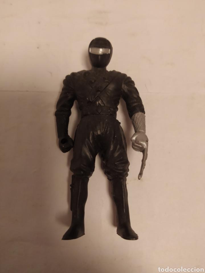 Figuras y Muñecos Power Rangers: Power Rangers ninja negro plástico, Chap Mei año 1995 - Foto 3 - 229229305